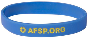 Blue Out of the Darkness Wristband (Pack of 10)