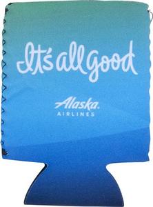 Alaska Airlines Neoprene Koozie