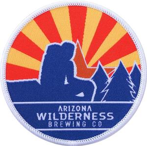 "Arizona Wilderness 3"" Sunburst Circle Patch"
