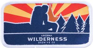 Arizona Wilderness Sunburst Rectangle Patch