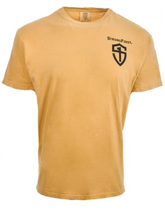 Men's Mustard Shield Tee