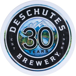 Deschutes Brewery 30th Anniversary Sticker