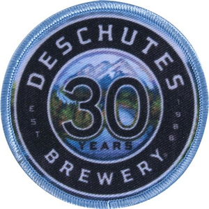 Deschutes Brewery 30th Anniversary Patch