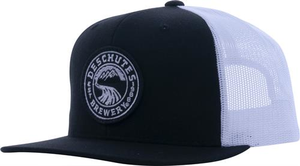 Deschutes Brewery Circle Logo Patch Flat Bill Trucker Hat