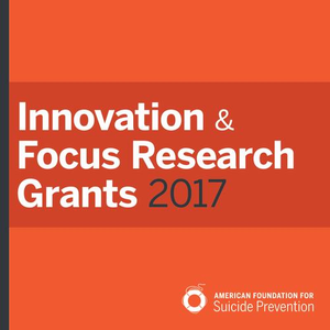 Innovation & Focus Research Grants 2017