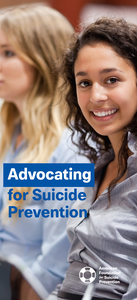 Advocating for Suicide Prevention Brochure (Pack of 25)