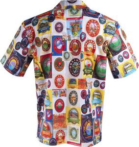 Deschutes Brewery 30th Anniversary Vintage Hawaiian Shirt