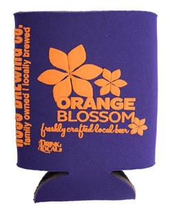 Orange Blossom Koozie