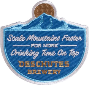 Deschutes Brewery Scale Mountains Faster Patch