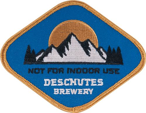 Deschutes Brewery Not For Indoor Use Patch
