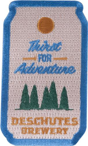 Deschutes Brewery Thirst For Adventure Patch