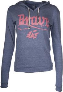 Women's Brave Tshirt Hoodie (Women's Cut)