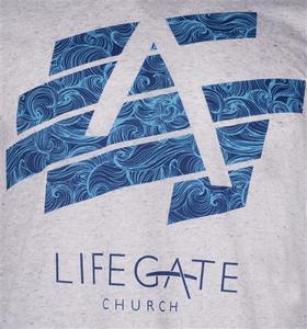 Lifegate Church Logo Unisex Tee