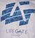 Lifegate Church Logo Unisex Tee image 2