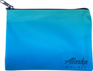 Alaska Airlines Wordmark Pouch