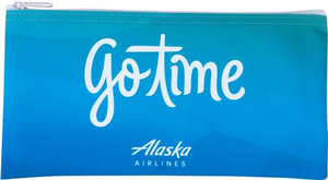 Alaska Airlines Go Time Pouch