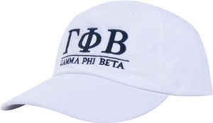 Greek Letters Hat - gamma phi beta
