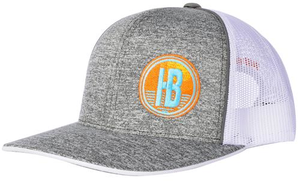 Huss Brewing Heather Mesh Hat