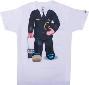 Youth T-Shirt Short Sleeve Pilot Uniform