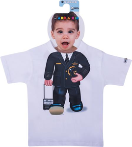 Toddler T-Shirt Short Sleeve Pilot Uniform