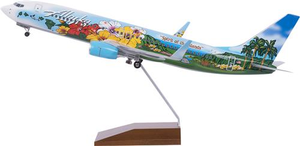 Skymarks Supreme 737-800 Spirit of the Islands 1/100 Model