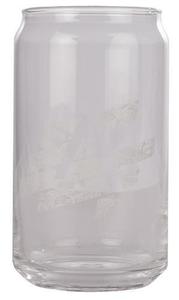 Lifegate Church Clear Glass Soda Can