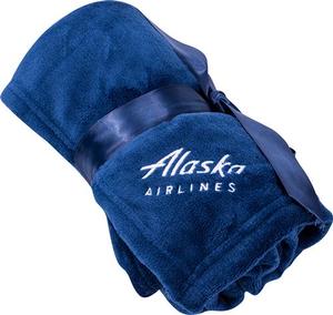 Alaska Airlines Baby Plush Blanket