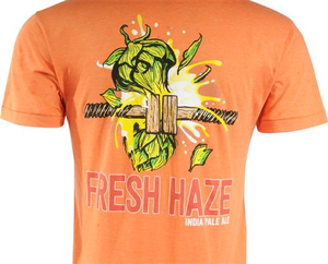 Beer Logo T-Shirt: Fresh Haze