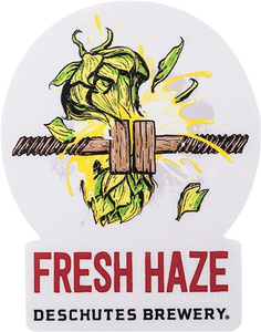 Beer Logo Sticker - Fresh Haze
