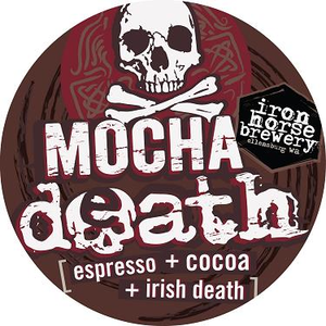 Mocha Death Tap Stickers (25 pack)