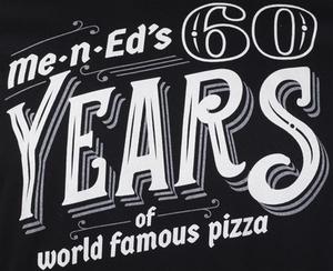 Me-n-Ed's 60th Anniversary Unisex Tee