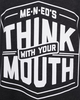 Women's Me-n-Ed's Think With Your Mouth Tank image 2