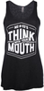 Women's Me-n-Ed's Think With Your Mouth Tank image 1