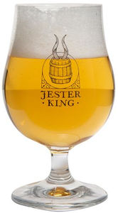 Jester King Logo Stem Glass