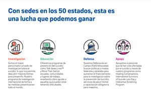 AFSP Brochure - Spanish (Pack of 25)