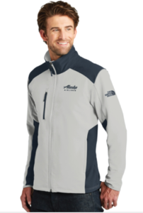 Alaska Airlines Unisex The North Face Soft Shell Jacket