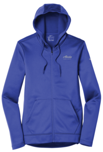 Women's Alaska Airlines Nike Full-Zip Fleece Hoodie