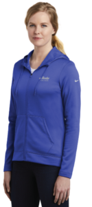 Alaska Airlines Women's Nike Full-Zip Fleece Hoodie