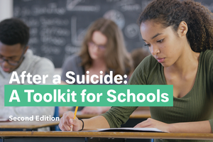 After a Suicide: A Toolkit for Schools Postcard (Pack of 25)