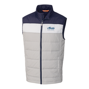 Alaska Airlines Mens Packable Insulated Vest