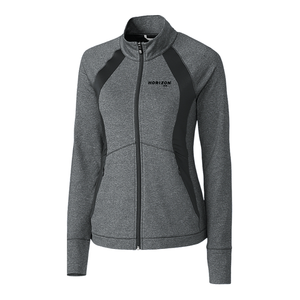 Horizon Air Jacket Ladies Cutter and Buck Shoreline Full Zip
