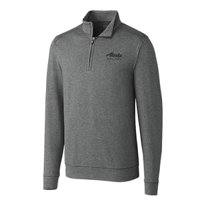 Men's Cutter and Buck Shoreline Half Zip