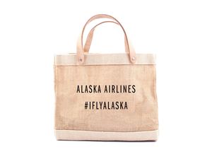 Alaska Airlines Tote Apolis Lunch Bag - 10x11.25""