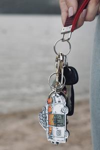 Wild Tribute Van Keychain
