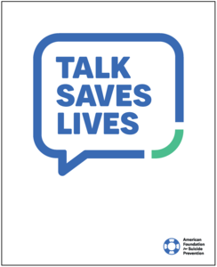 Talk Saves Lives Brochure (Pack of 25)