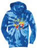 Youth Port & Company® Youth Tie-Dye Pullover Hooded Sweatshirt image 1