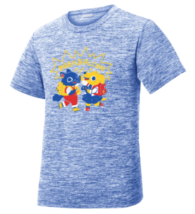 Youth Sport-Tek Youth PosiCharge Electric Heather Tee