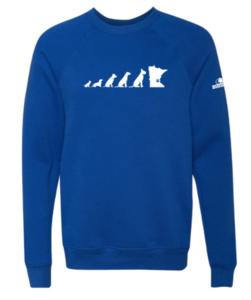 Unisex Bella+Canvas Sponge Fleece Raglan Sweatshirt