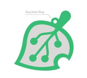Key Tag Custom Shape Soft PVC Keychain
